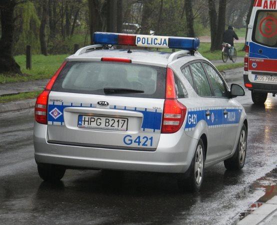 Policja Mysłowice: Poszukiwany przyłapany na kradzieży i z narkotykami